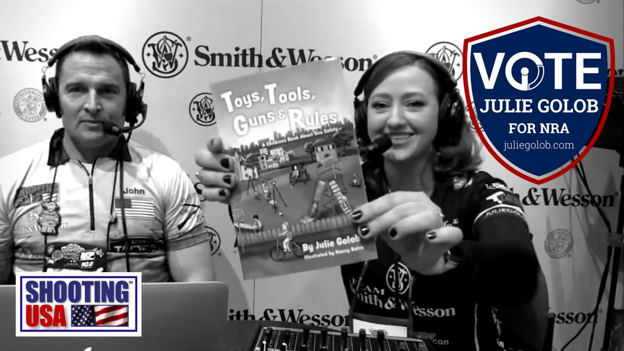 Julie Golob Kicks Off the 2018 SHOT Show with the SHOOTING USA Podcast