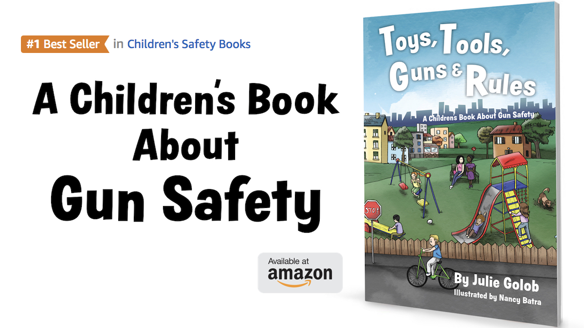 World champion shooter targets firearm safety with childrens book julie golobs childrens book about gun safety fandeluxe Choice Image
