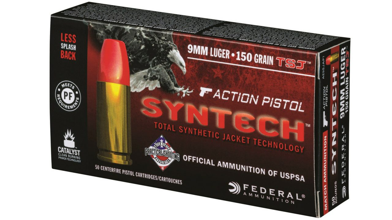 Federal Premium Syntech Action Pistol Ammo