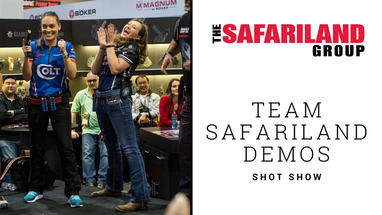Team Safariland Demos at SHOT Show