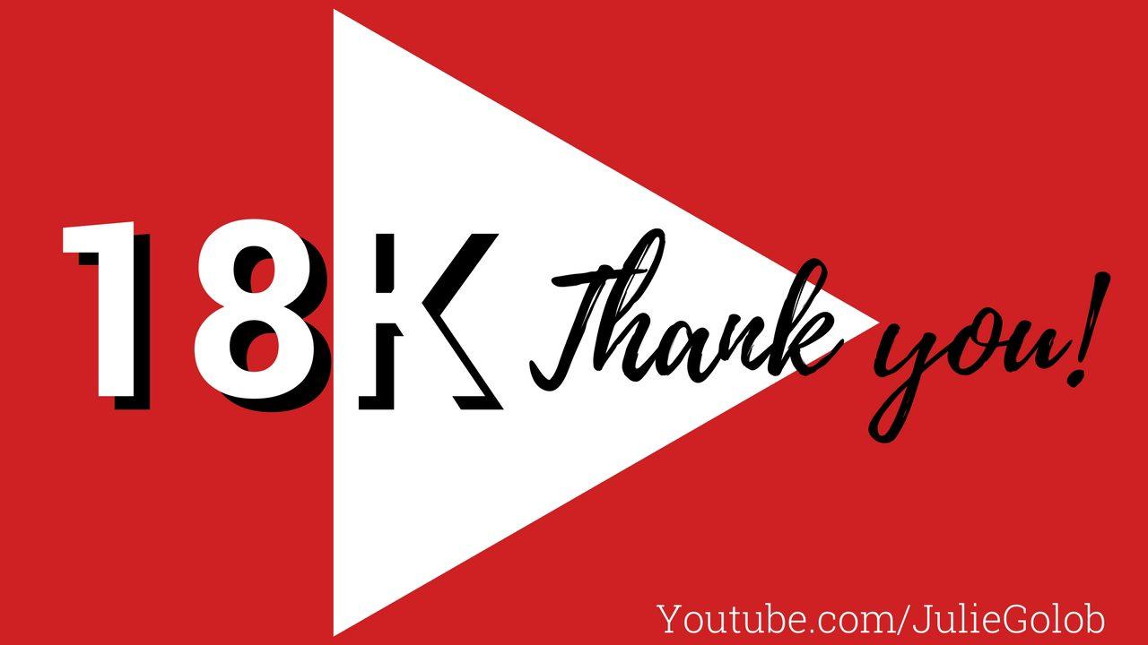 18K Youtube Milestone