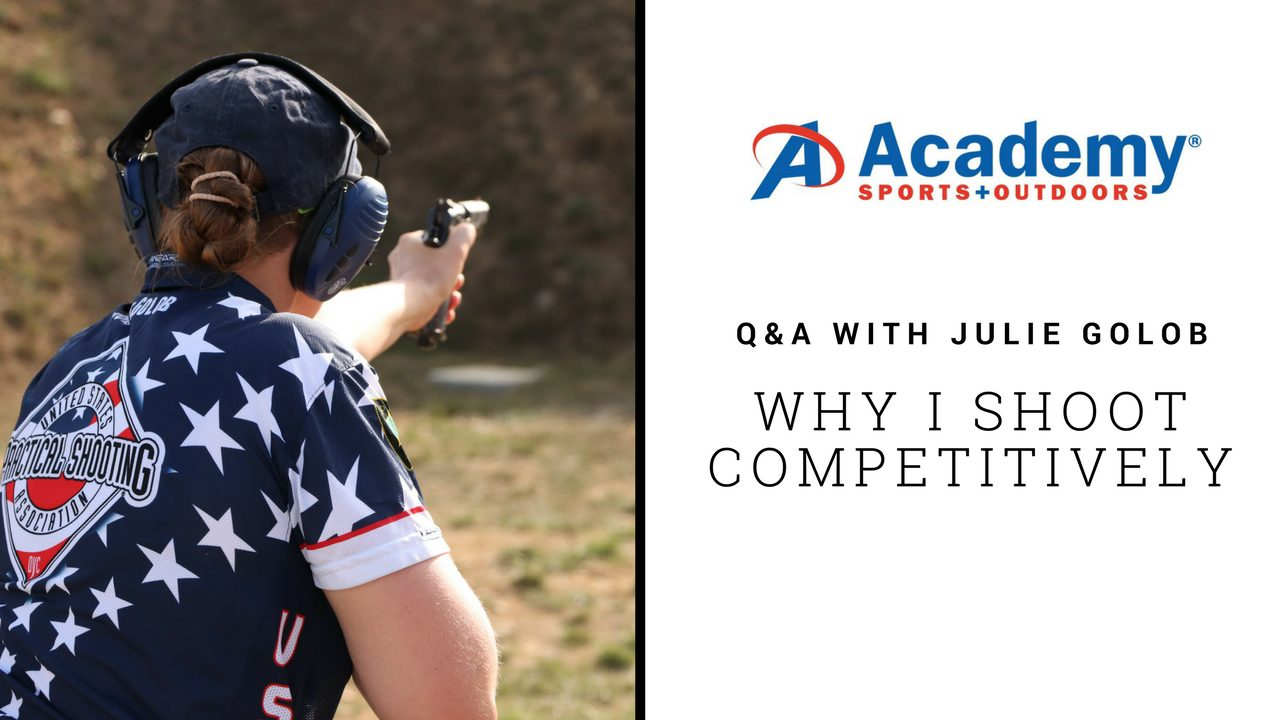 Julie Golob on Competition Academy Sports