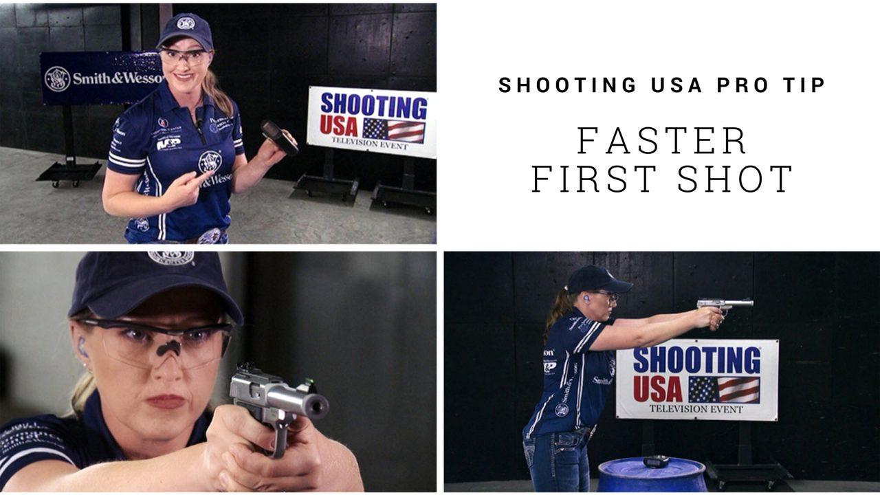 Julie Golob's Fast First Shot Pro Tip on Shooting USA