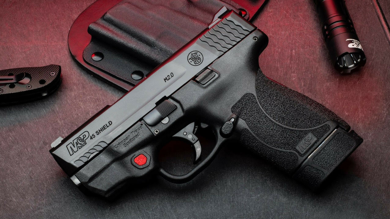 M&P Shield M2 0 with Integrated Crimson Trace Laser Now Available in